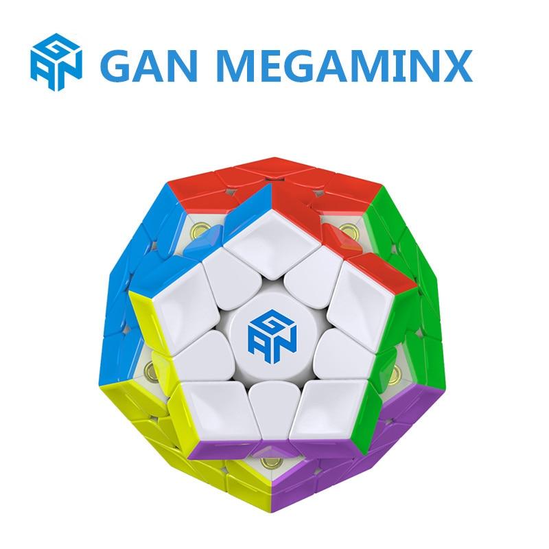جان ميغامينكسدس مكعب سرعة سحري مغناطيسي مكعب مكعب مغناطيس 12 الجانبين لغز مكعبات جان ميغامينكس مكعب مغناطيسي للأطفال