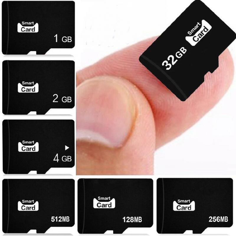 High Quality Micro TF Memory Card 128M 256MB 1GB 2GB 4GB 8GB 16GB 32GB Flash Drive Memory Micro SD Card For Smartphone Adapter