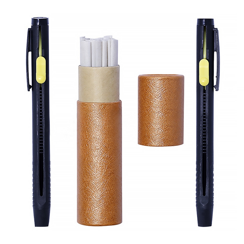 Leather Chalk Pencils Set Fabric Marker Pen Tailor's DIY Clothing Sewing Marking Pen Assorted Kit