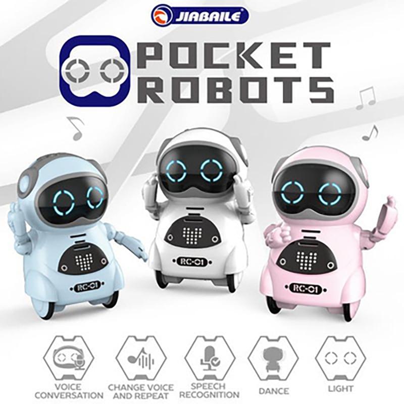 Карманный робот 939A на дистанционном управлении, говорящий интерактивный диалог, распознавание голоса, запись пения, танцев, рассказ, семейн...