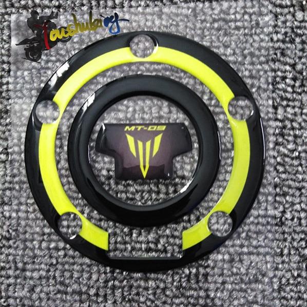 Envío Gratis pegatina de motocicleta de alta calidad 3M casco y tanque de combustible coche 3d fibra de carbono apto para yamaha MT09 mt09
