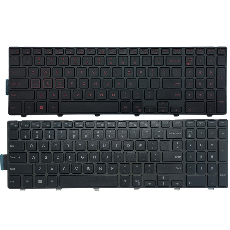 NEW US laptop Keyboard FOR DELL Inspiron 15-3542 3551 3552 3541 3543 3559 3565 3567 3551 3558 7557 7559 P57F 17 5749 5755 5758