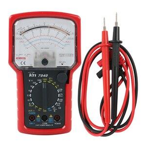 KT7040 High Precision High Sensitivity Pointer Multimeter Ohm Test Meter Analog Multimeter Diode Testing CAT