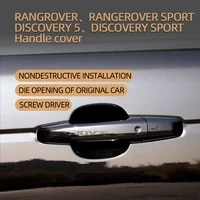 chrome door handle for land rover 13 20 rangerover vogue 14 20 rangerover sport 17 21 discovery 5 15 19 discovery car styling