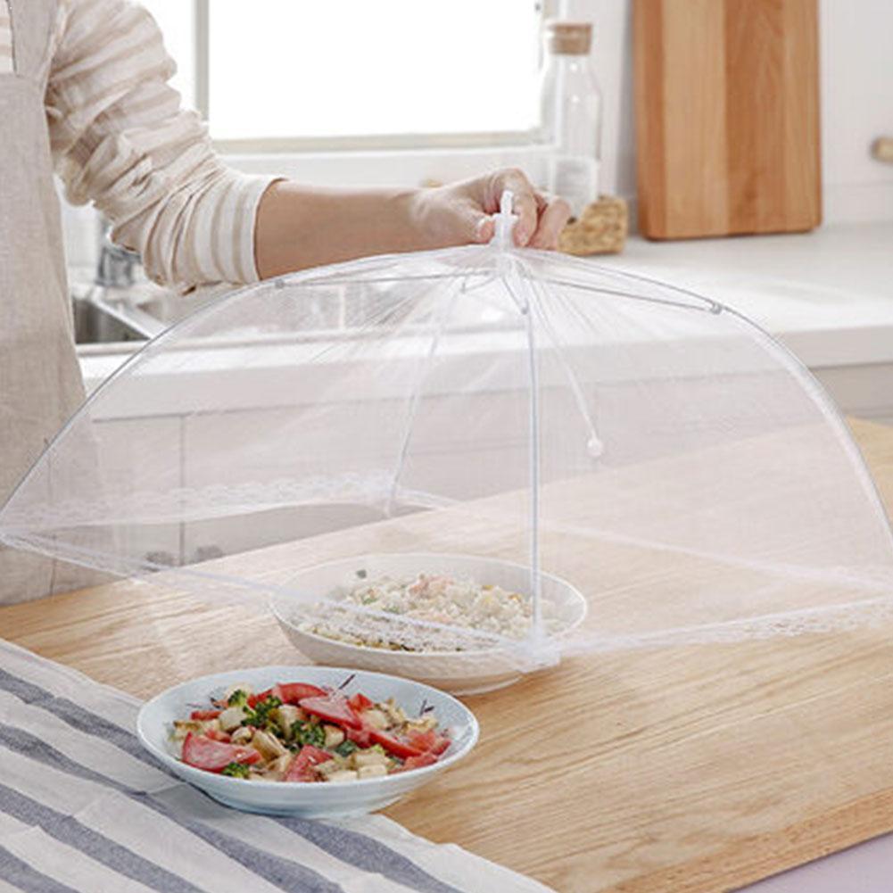 Cuisine Up maille écran protéger nourriture couverture tente parapluie Net cuisine dôme pique-nique maille parapluie moustique Anti plié mouche K1O2