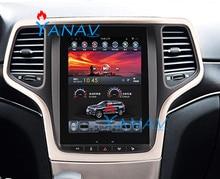 Voiture multimédia GPS Audio Radio stéréo pour-Jeep Grand Cherokee 2014-2016 GPS Audio Radio écran tactile Navigation