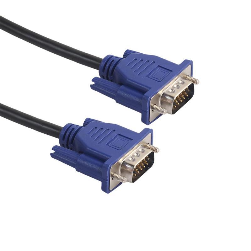 Cable de extensión VGA de 1,5/3/4.5m Cable VGA M/M HD de 15...
