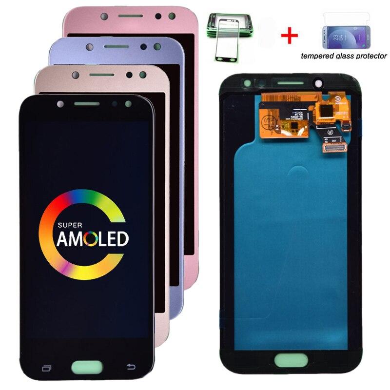 Pantalla LCD Super Amoled para Samsung Galaxy J5 2017 J530 J530F, pantalla LCD con digitalizador de pantalla táctil, montaje gratis