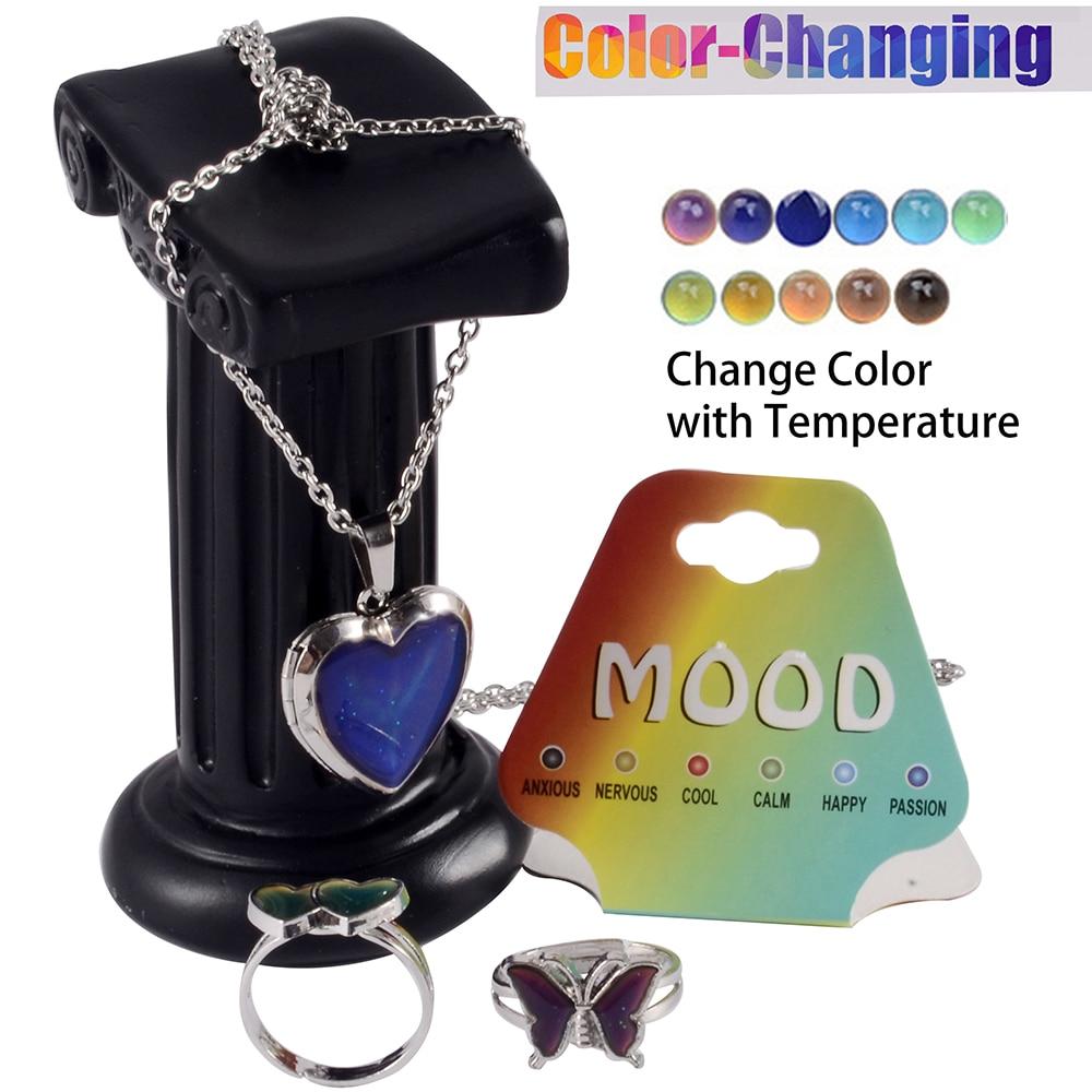 1-шт-Температура-изменение-Цвет-настроение-кольца-рисунок-«сердечко»-«бабочка»-чувства-эмоции-кулон-ожерелье-chainwedding-кольцо-для-женщин