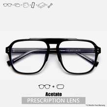 Women Men Clear Glasses Designer Eyeglasses Custom Prescription Eyeglasses Progressive Oversized Pre