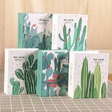 Pochettes de 100 poches pour Album Photo de 6 pouces   Étui pour Scrapbooking et Photo, cadre pour Album Photo Cactus et famille