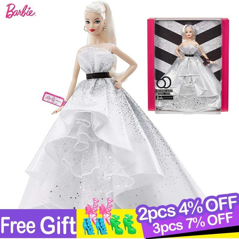 Barbie Original colección limitada muñeca inspirador pintora mujeres serie muñeca moda princesa...