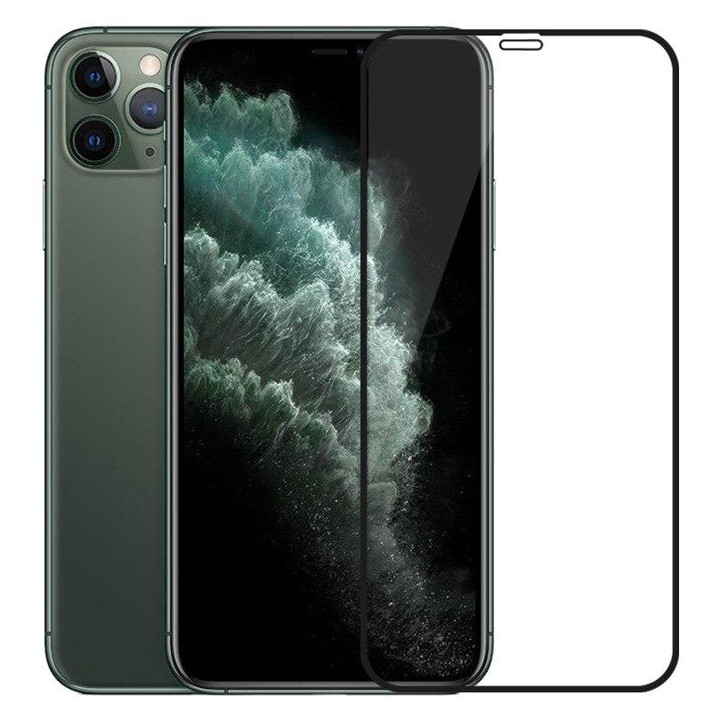 Felkin 9H vidrio Protector templado para iPhone 11 Pro Max XR X XS X Max 7 8 6 Plus 5 Protector de pantalla iPhone 11 Pro Max XR X XS X