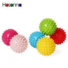 Bébé doux sensoriel jouet balles presser rebondissant Fidget développement éducatif gonflable en caoutchouc jouets pour enfants infantile jeu cadeau
