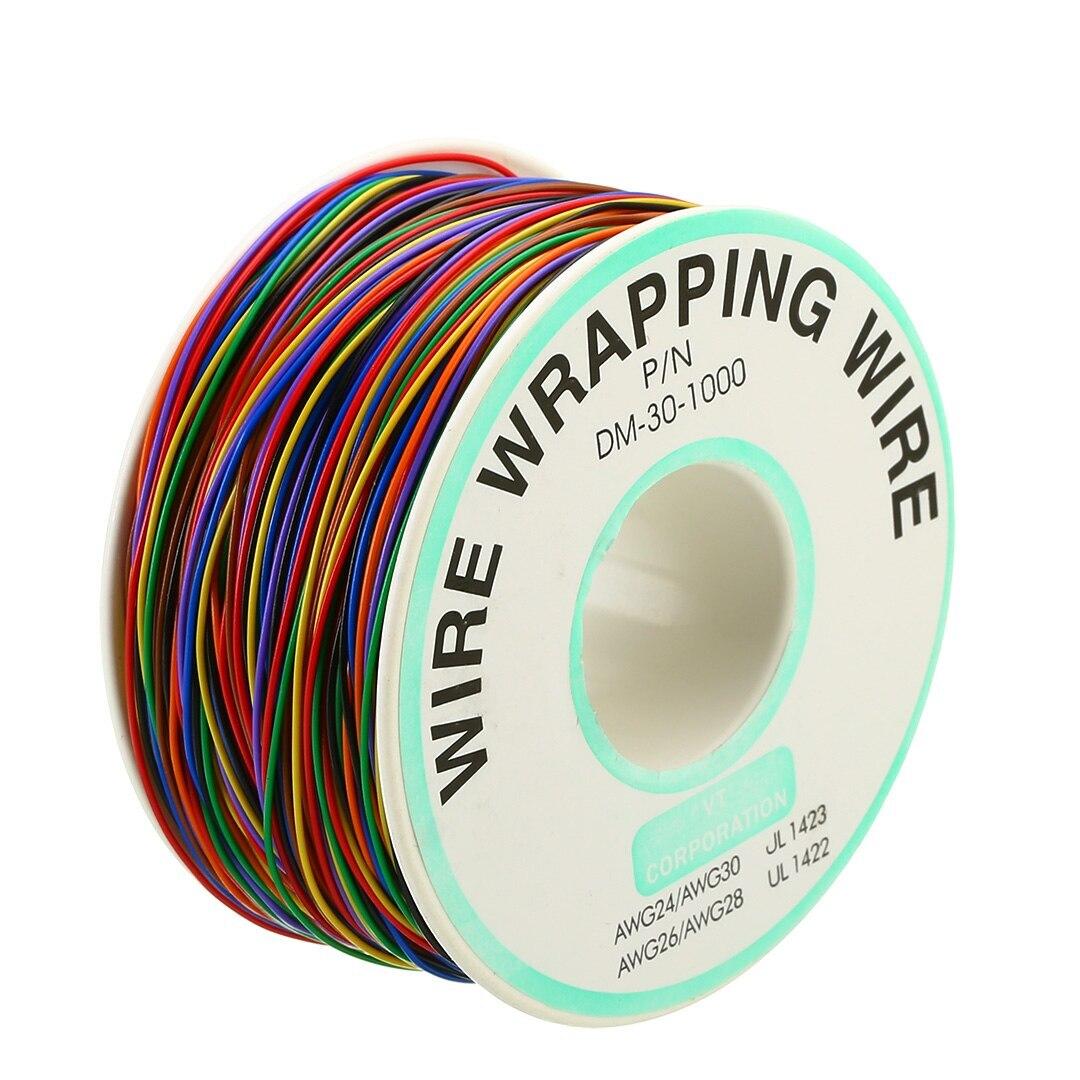 Cable de envoltura de cobre Chapado en estaño, 30AWG, 0,25mm, Cable de...