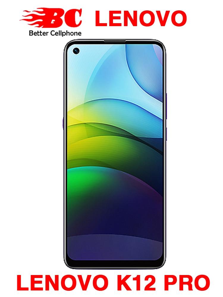 Lenovo Lemon K12 Pro, телефон с экраном 6,8 дюймов HD, ОЗУ 4 Гб, ПЗУ 64 ГБ, процессор Snapdragon 8-ядерный, Android 10, 64 мп, 6000 мАч, сканер отпечатков пальцев, мобильный...