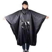 Multi-Functional Raincoat Outdoor Waterproof Rain Poncho Backpack Cover Portable Sunshade Camping Tarp .Ground Mat Hiking Pic ZJ