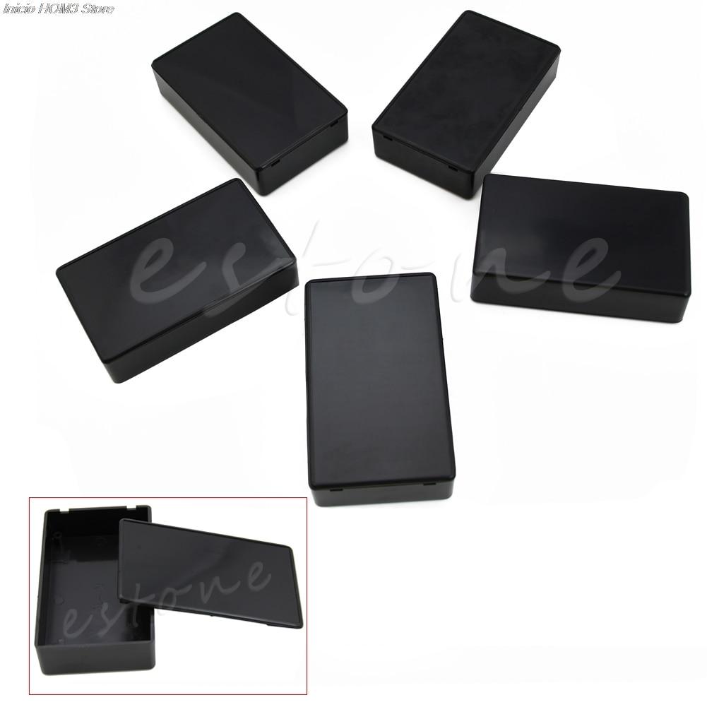 5 uds 100x60x25mm de plástico DIY Caja de proyectos electrónicos caja de instrumentos DropShipping. Exclusivo. Nueva