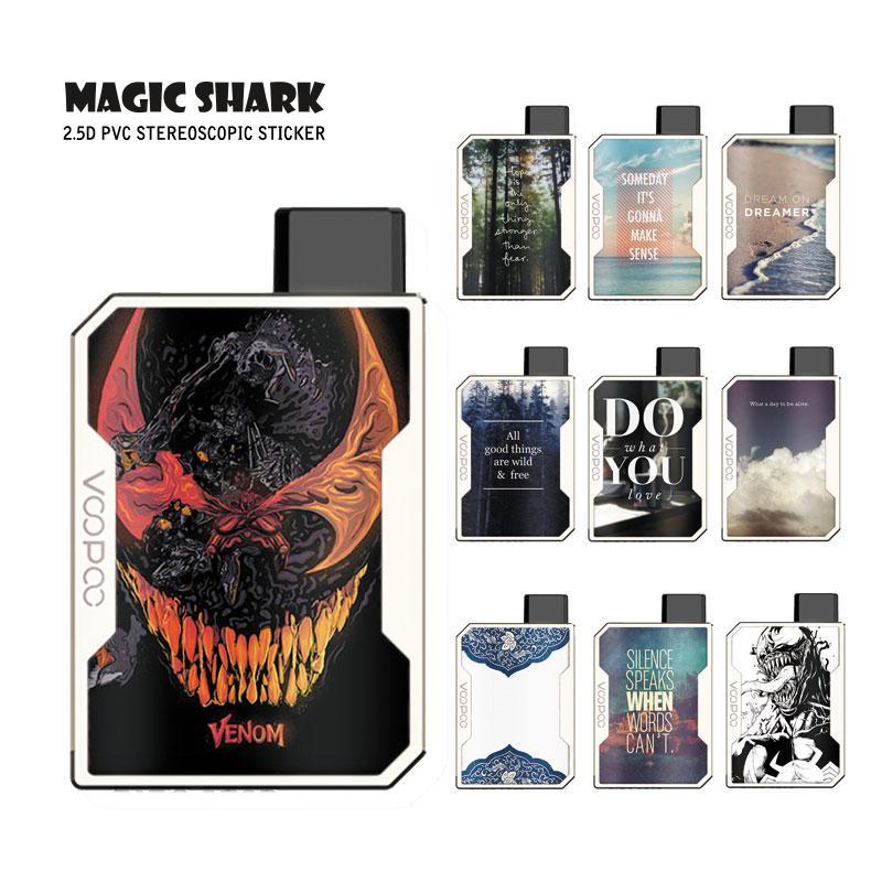 Magic Shark Fashion Venum английские слова Китай 1 шт./лот чехол наклейка пленка для Voopoo Drag Nano 031-040