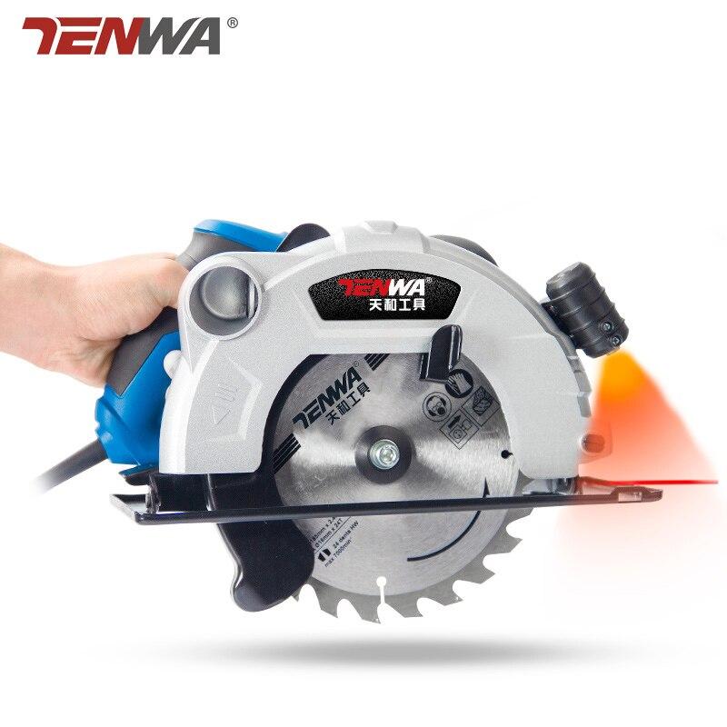 PROSTORMER 220V 1500W 7 pulgadas 60mm sierra Circular eléctrica de la madera/500W 3,5 pulgadas minisierra cortar madera/Metal de ladrillo