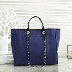 New Fashion Lady Diagonal Canvas Handbag Large Capacity Canvas Bag Handbag Portable Single Shoulder Strap Zipper Handbag