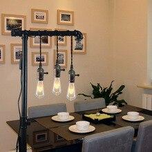 Vintage 3 support de lampe pendentif lumières E27 prise de lumière industrielle 4M Triple luminaire suspendu