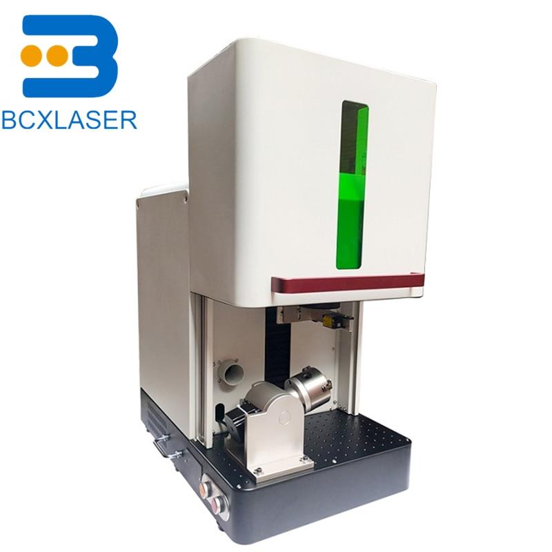 1mm gold jewelry fiber laser cutting marking machine factory price in Europe