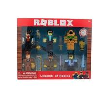 Légendes de ROBLOX Six Figurines Pack 7cm modèle poupées garçons enfants jouets jugetes Figurines Collection Figuras cadeau de noël pour enfant