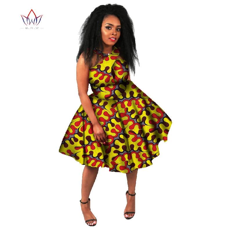 Vestidos De talla grande 2020 vestido De moda para mujer 6XL Vestidos De fiesta Longo Dashiki ropa africana tradicional para mujer BRW WY668