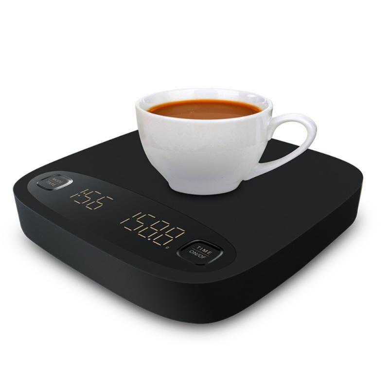 Coffee Electronic Scale USB Charging Smart Coffee Scale With Timing Roasting Scale Hand Coffee Electronic Scale Kitchen Scales