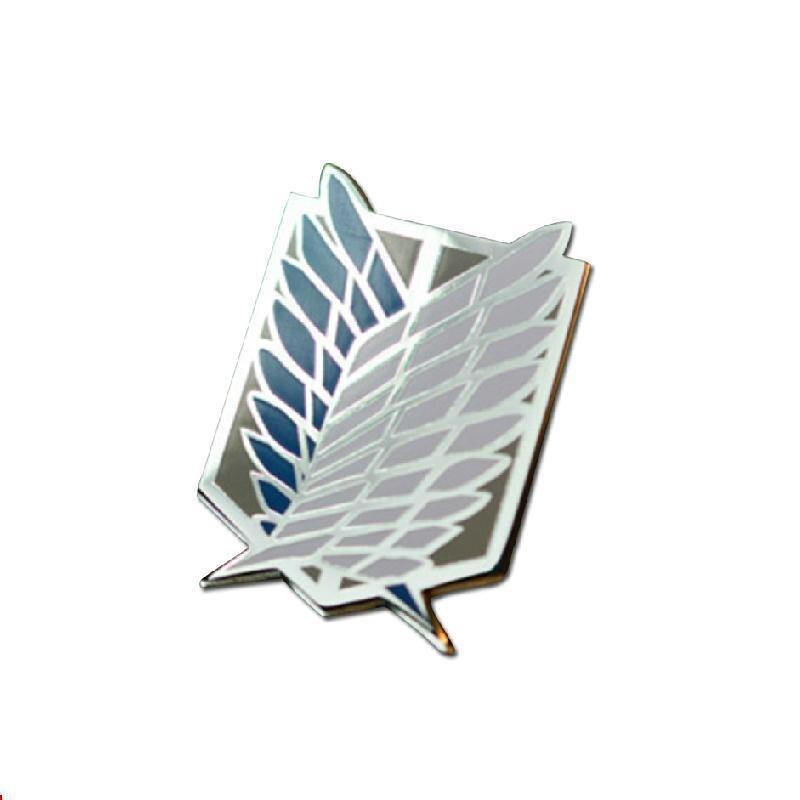 Ataque a la insignia del Titán cuerpos de investigación alas de la libertad Cos Metal Regiment Iron Box