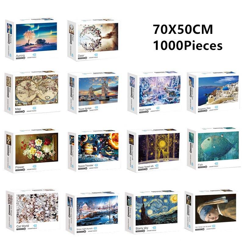 1000 частей головоломки Пазлы сборки изображения классические картины pzzles игрушки для взрослых и детей, игры развивающие игры, игрушки