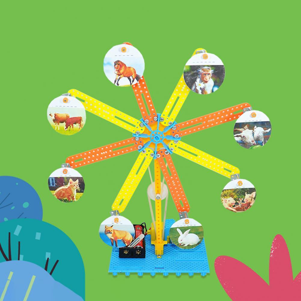развивающие игрушки Science Toy Intellectual Joyful Recreational Ferris Wheel Experiment Model for Kid Funny Children's Toys развивающие игрушки