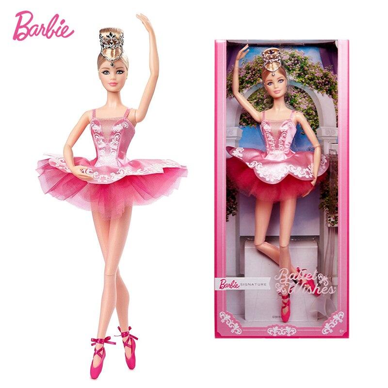 Figura de Ballet de 12 pulgadas con dibujo de Barbie, muñeco para...