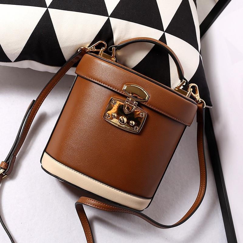 2021 Designer Genuine Leather handmade vintage Womens Crossbody Bag Small square bag Luxury Handbag Ladies classic Shoulder Bag  - buy with discount