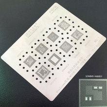 Amaoe BGA Reballing 스텐실 Qualcomm SDM710 SDM845 SDM660 SDM636 MTK MT6771V MT6739V MT6763V MT6757V CPU Reballing Tin