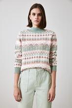 Pull en tricot Jacquard tendance deuxaw21kz1044