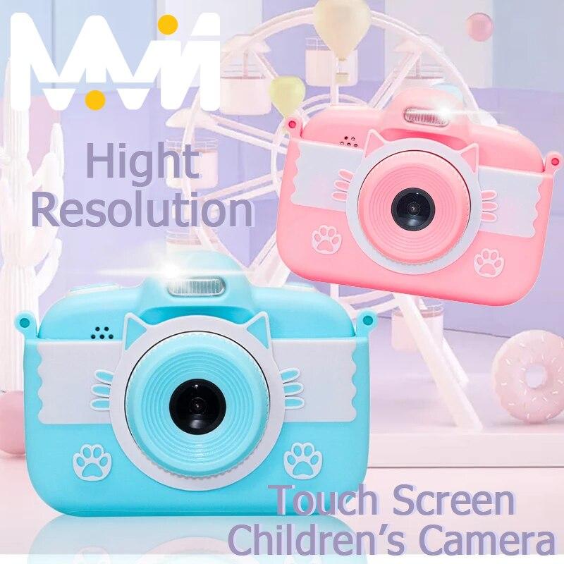 Minicámara de juguete para niños, cámara Digital de 3,0 pulgadas, 18MP, Full...