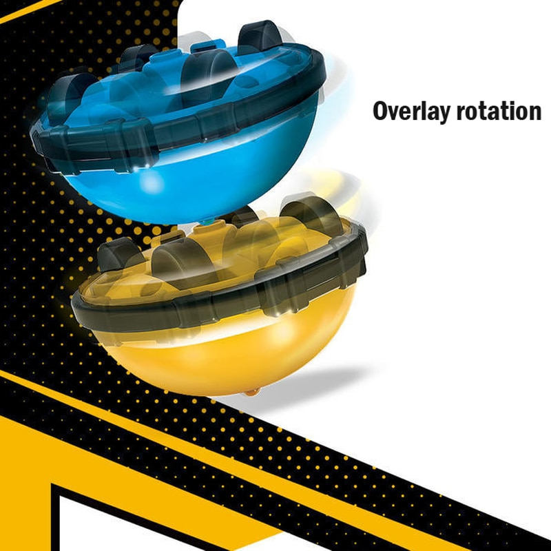 New Stunt Gyro Xiao Bao than Elves Beyblade Inertial Walking Robot toys for children  Children's Day Gift figet spinner  kinetic enlarge