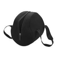 Etui noir de rangement pour chargeur  fermeture eclair  antichoc  accessoire de protection  sac de transport  housse de voyage anti-poussiere pour haut-parleur Bluetooth Homepod