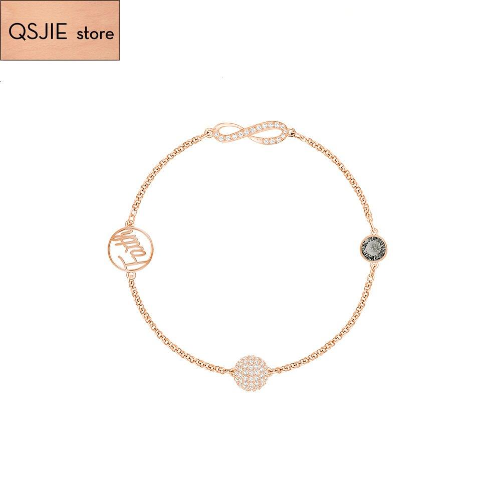 Alta calidad SWA nuevo Cisne serie Mini joyería pulsera de las mujeres