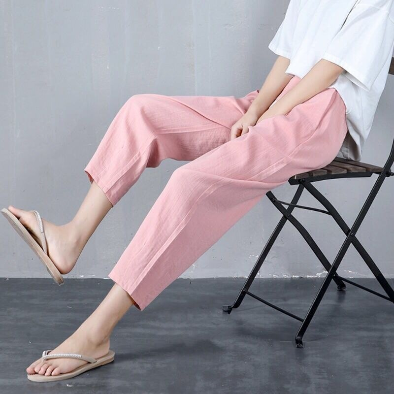 Special Offer Mom Pants New Summer Pants Women's Loose Casual Pants Women's Large Size Harem Pants C