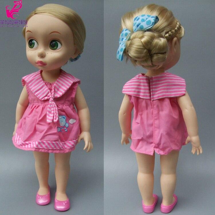 Кукла Эльза Анна, одежда, платье для 16 дюймов 40 см, Шарон, принц, Кукольное платье для Золушки, принцессы Белль, Рапунцель, Белоснежка