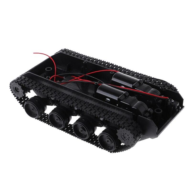 Balance de amortiguación, tanque Robot, plataforma de chasis, mando a distancia DIY para Arduino