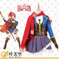 anime girls opera revue starlight cosplay costume kano misora dresses christmas halloween free shipping cg832lhy
