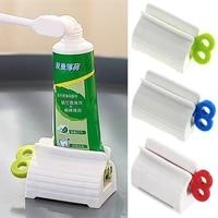 Presse-dentifrice  distributeur multifonction  facile a utiliser  nettoyant pour le visage  Tube a rouler  accessoires de salle de bains