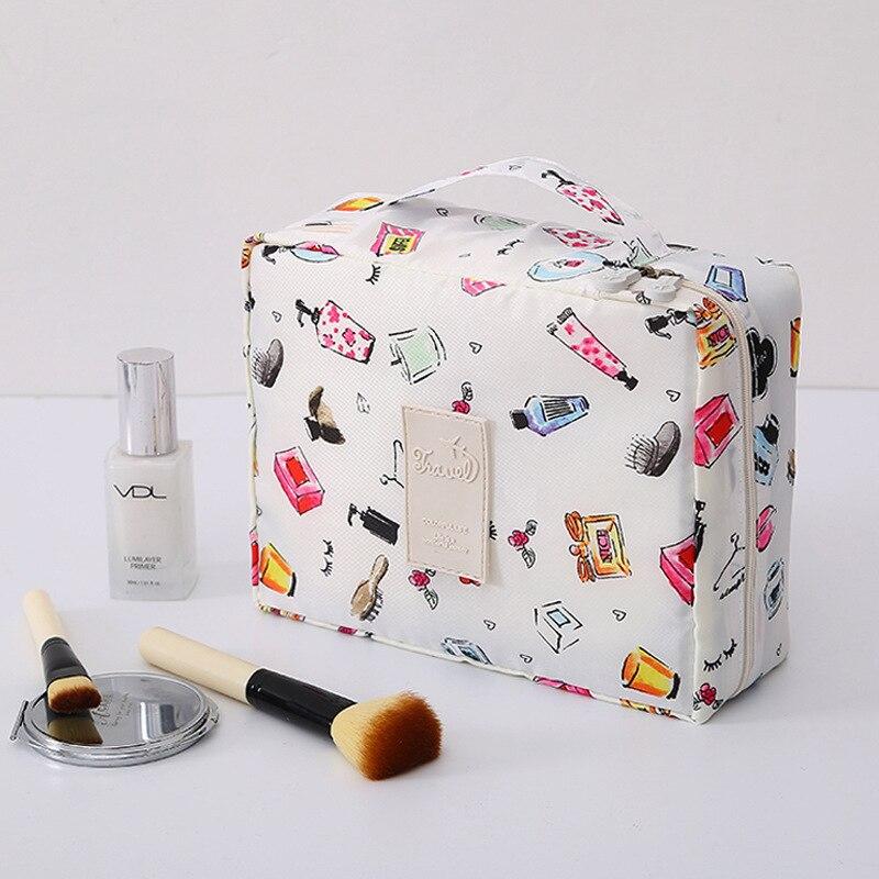 Mujer bolsas de maquillaje de señoras Multifunción viaje