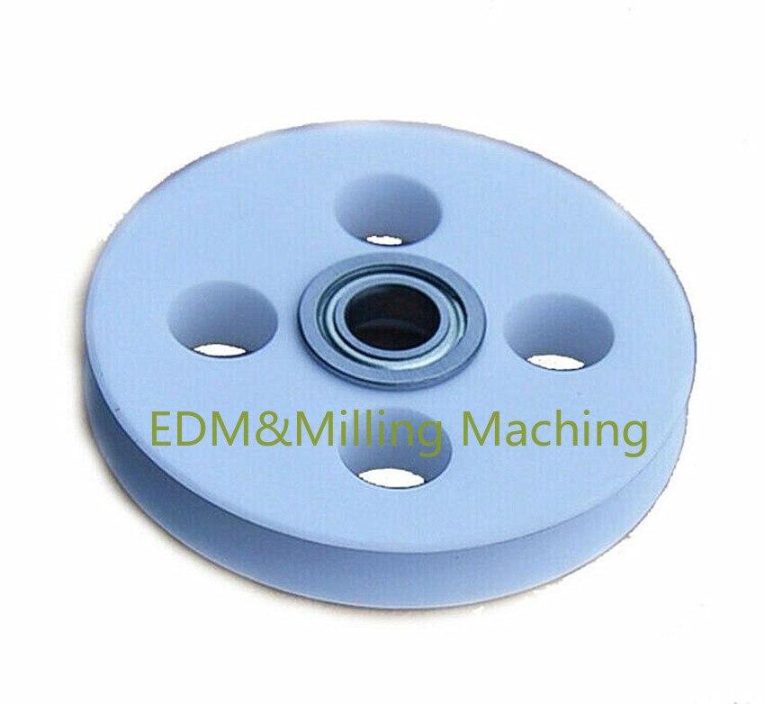1 قطعة عالية الجودة CNC S462 منتديات رابطة الأدب EDM إصلاح أجزاء الفولاذ و السيراميك عجلة بكرة AG360 دائم جديد