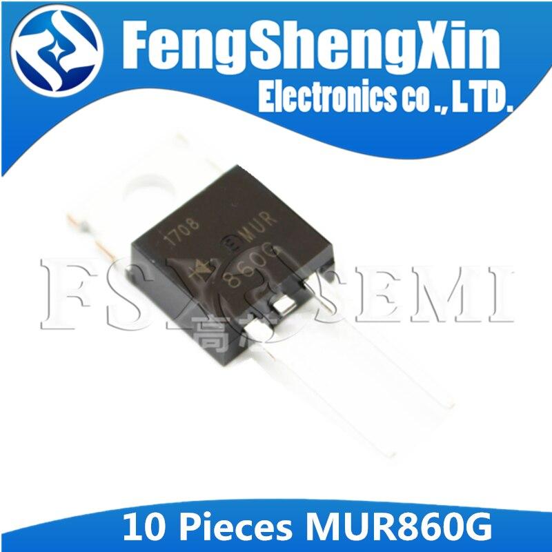 10 teile/los MUR860G U860G MUR860 U860 Power Gleichrichter ZU-220