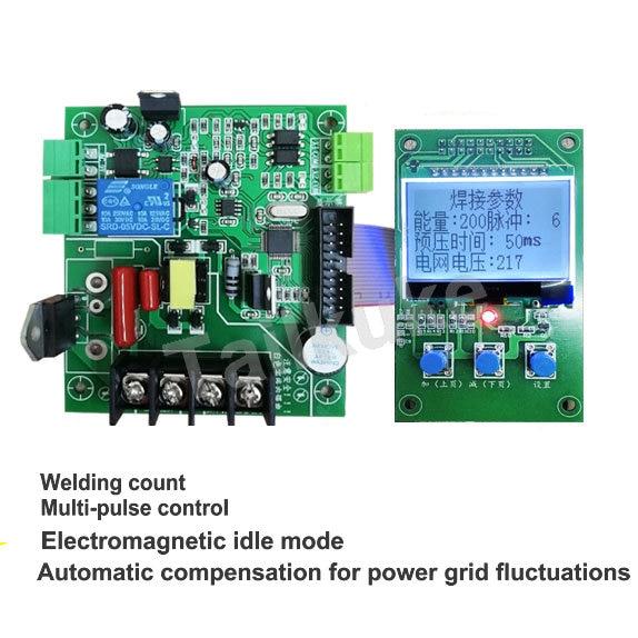 Spot Welding Machine Control Board DIY Transformation LCD Control SCR Spot Welding Machine Control Board